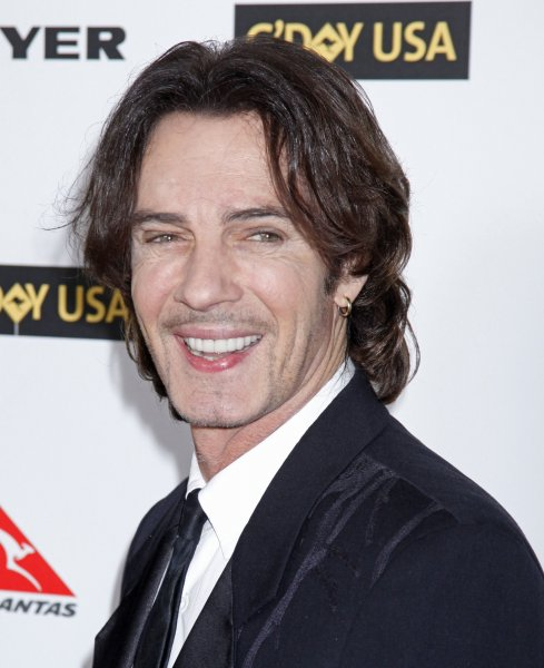 Rick Springfield arrives on the red carpet at the G'Day USA 2010 Los Angeles Black Tie Gala in Hollywood on January 16, 2010. The event honors high profile individuals for significant contributions to their industries and for excellence in promoting Australia in the United States. (UPI/David Silpa)