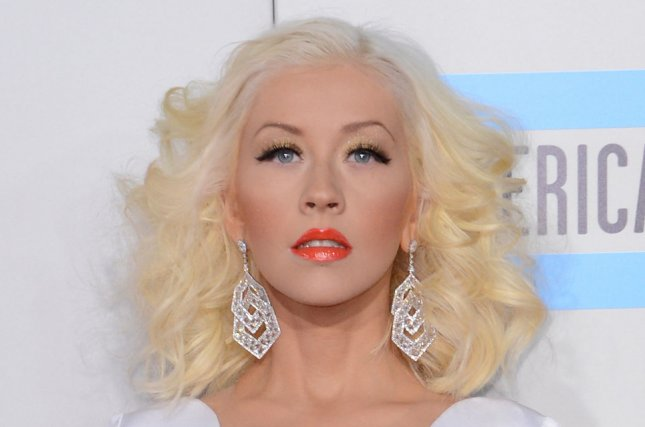 Christina Aguilera impersonated Britney Spears on 'The Tonight Show.' File photo by Phil McCarten/UPI
