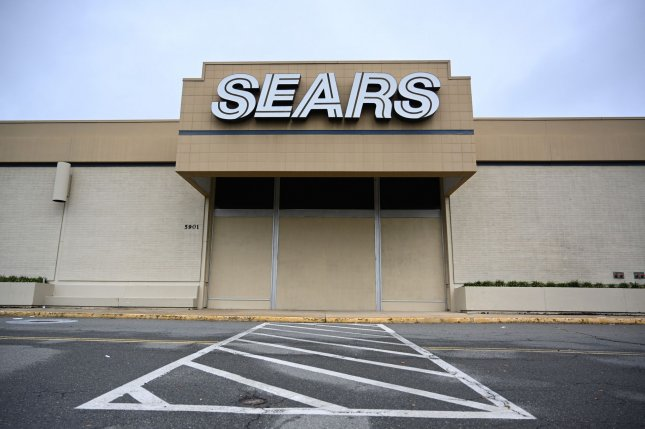 Parent company Transform Co. said the closures come as it prepares to open more small-format Sears Home & Life locations. Photo by Pat Benic/UPI