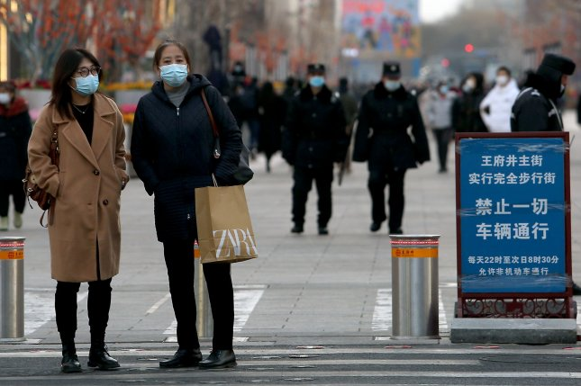 More Chinese cities are on lockdown after authorities reported hundreds of new COVID-19 cases since Jan. 2. Photo by Stephen Shaver/UPI