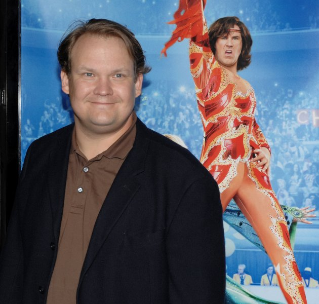 Andy Richter, a cast member in the motion picture sports comedy Blades of Glory, arrive for the premiere of the film at Grauman's Chinese Theatre in the Hollywood section of Los Angeles on March 28, 2007. (UPI Photo/Jim Ruymen)