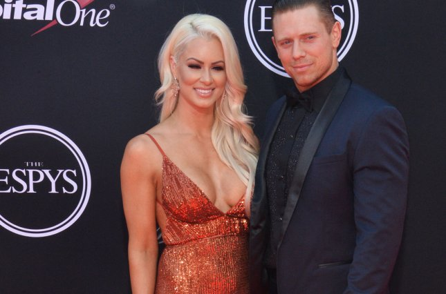 Wwes the miz becky lynch and shawn michaels to star in the marine pro wrestlers maryse ouellet and michael mizanin the miz are seen here at the 25th espys in los angeles on july 12 mizanin is to star in the film m4hsunfo