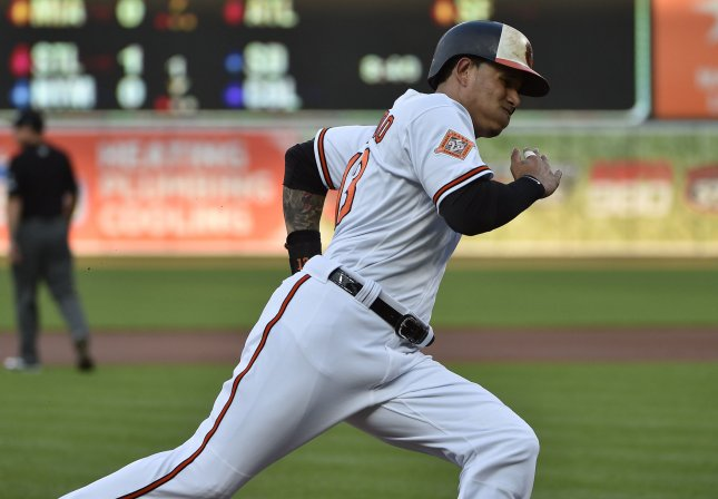 Manny Machado and the Baltimore Orioles face the Chicago White Sox on Tuesday. Photo by David Tulis/UPI
