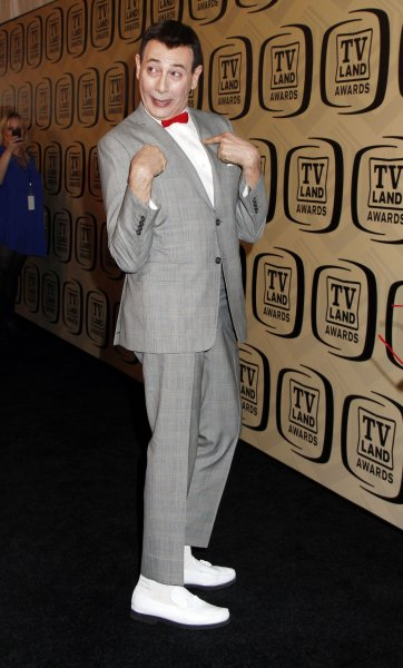 Pee-wee's Playhouse is getting a Thanksgiving marathon on IFC. The classic children's program starred Paul Reubens. File Photo by Laura Cavanaugh/UPI
