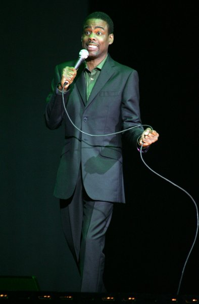 Chris Rock performs in concert at the Seminole Hard Rock Hotel and Casino in Hollywood, Florida on February 11, 2008. (UPI Photo/Michael Bush)