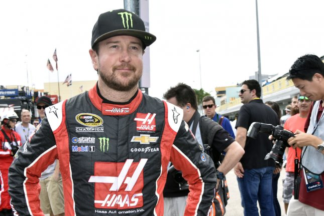 NASCAR Nationwide Series Championship race rKurt Busch (41). Photo By Gary I Rothstein/UPI