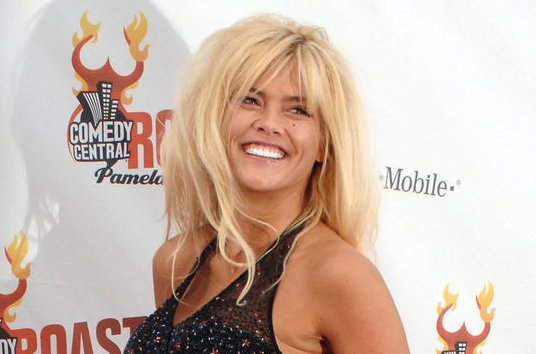 Anna Nicole Smith at Comedy Central's Roast of Pamela Anderson on August 7, 2005. The star died at age 39 in 2007. File Photo by Jim Ruymen/UPI