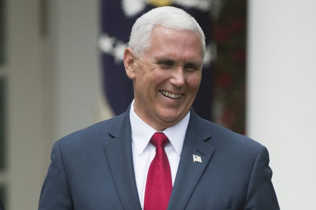 Vice President Mike Pence registered a political action committee with the Federal Election Commission this week in an effort to help Republicans in next year's midterm elections. File Photo by Kevin Dietsch/UPI
