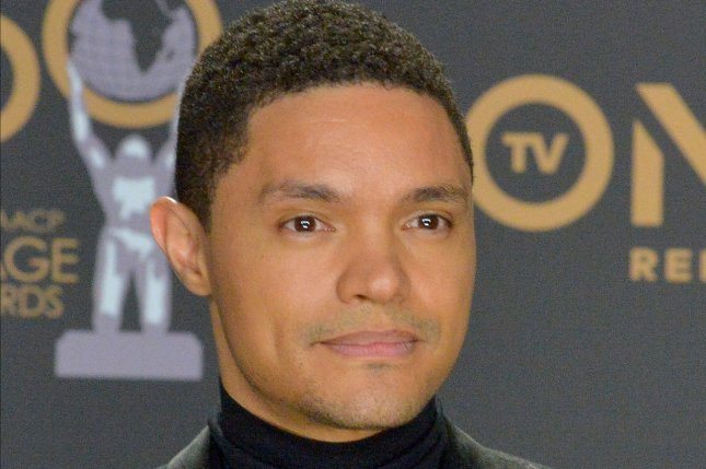 Trevor Noah will host The Daily Show live following the fourth Democratic presidential debate on Tuesday. File Photo by Jim Ruymen/UPI