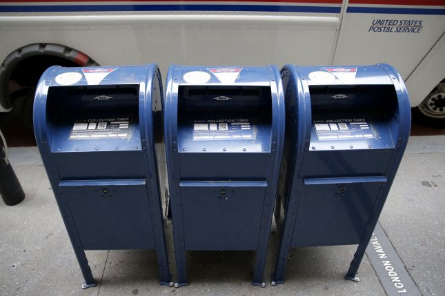 The measures ensure any mail-in ballot postmarked on or before Election Day will be counted as long as they're received by the Elections Board by November 10. Photo by John Angelillo/UPI