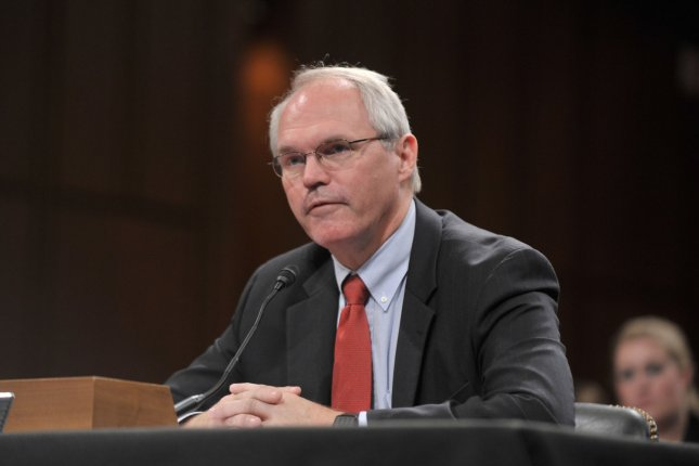 Christopher Hill, dean of the Josef Korbel School of International Studies at the University of Denver, said the United States is ready to pursue a peace treaty in the context of North Korea denuclearization. File Photo by Kevin Dietsch/UPI