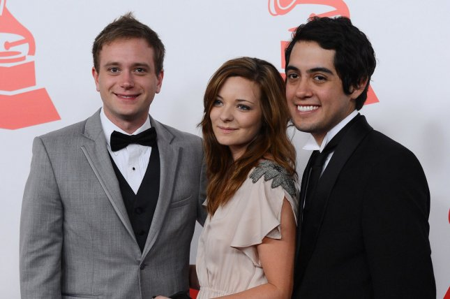 (L-R) Filmmaker Christian Heuer, actress Alissa Torvinen,and filmmaker Carlos Lopez Estrada arrive for the Latin Recording Academy Person of the Year Tribute to Caetano Veloso in Las Vegas in 2012. File Photo by Jim Ruymen/UPI