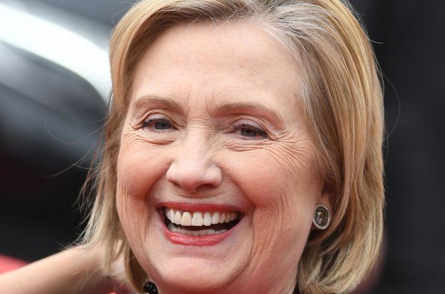 Hillary Clinton will host a new iHeartRadio Original podcast to premier on Sept. 29, iHeartMedia said Tuesday. File Photo by Paul Treadway/UPI