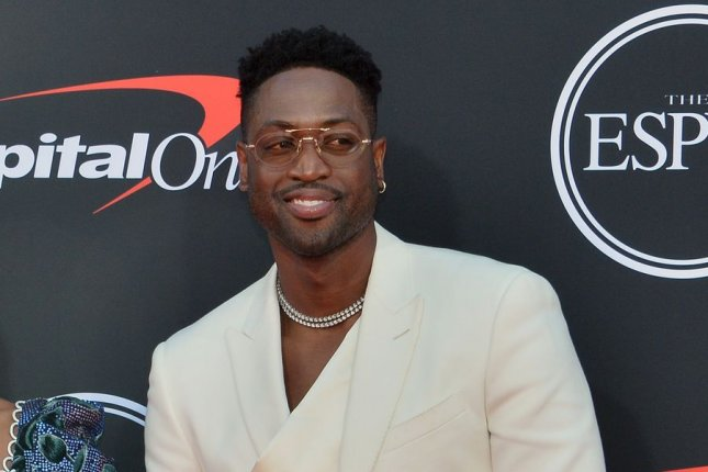 NBA player Dwyane Wade on Friday joined the Utah Jazz ownership group, which is led by majority stakeholder Ryan Smith. File Photo by Jim Ruymen/UPI