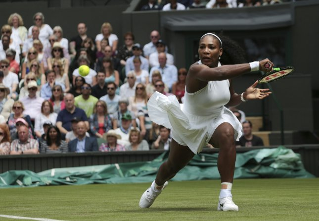 American Serena Williams made it into the third round of the 2016 Wimbledon Championships on Friday. Photo by Hugo Philpott/UPI