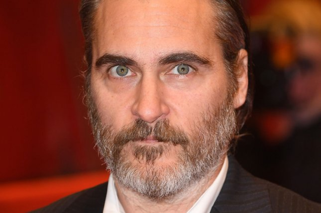 The first photo of Joaquin Phoenix in Joker was released online Sunday. File Photo by Paul Treadway/UPI