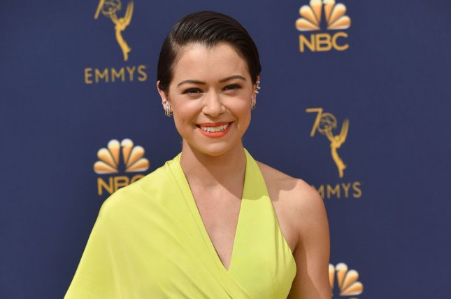 Tatiana Maslany will play an influential nun in the HBO limited series Perry Mason. File Photo by Christine Chew/UPI
