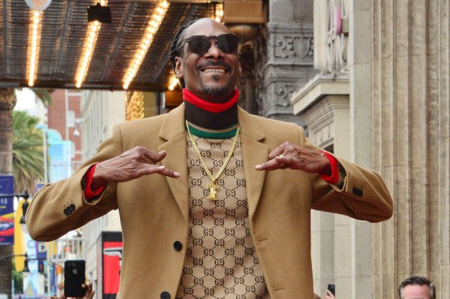 Rapper Snoop Dogg is among the eight competitors who will play in the virtual 2021 Pro Bowl on Sunday on Madden NFL 21. File Photo by Jim Ruymen/UPI