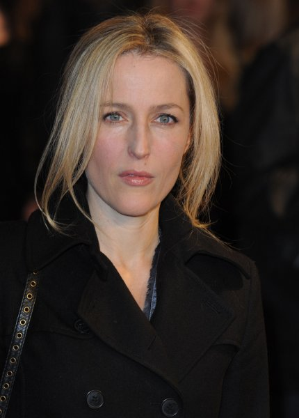 American actress Gillian Anderson attends the premiere of The Eagle at Empire, Leicester Square in London on March 9, 2011. UPI/Rune Hellestad