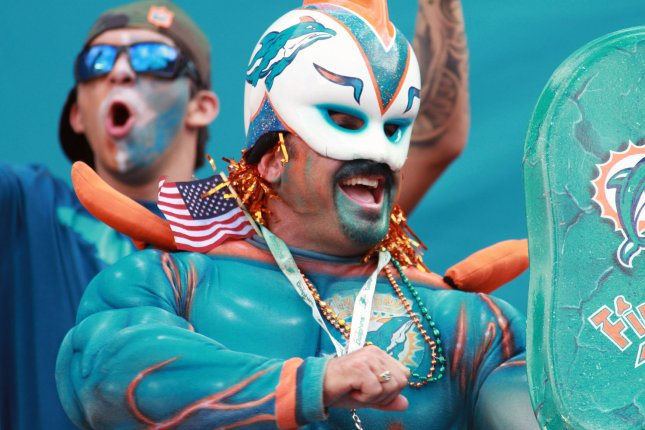The Miami Dolphins host the Tennessee Titans in Week 5. File photo by Susan Knowles/UPI
