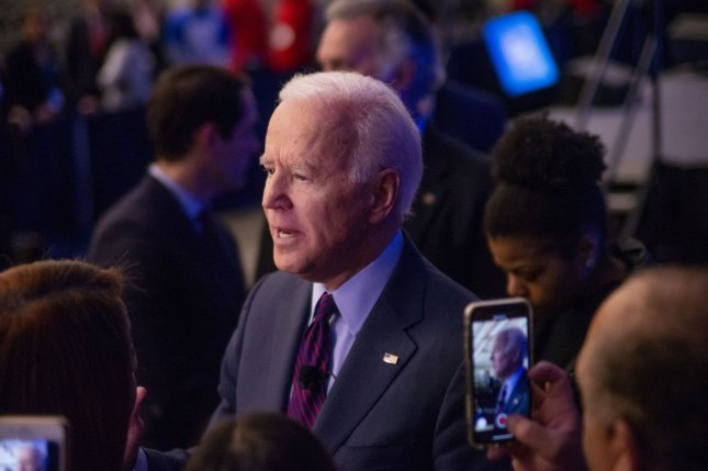 Former Vice President Joe Biden, shown speaking after the Public Education Forum 2020: Equity and Justice for All Dec. 14, said Friday he would not comply if subpoenaed in President Donald Trump's impeachment trial. Photo by Archie Carpenter/UPI