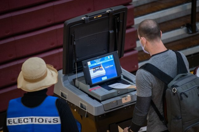 The FBI announced Monday that online rumors that state voter databases had been hacked were likely the work of foreign agents or cyber criminals who sought to undermine the U.S. election process. File Photo by Kevin Dietsch/UPI