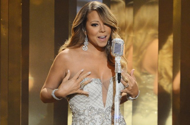 Singer Mariah Carey performs during BET Awards 13 at the Nokia Theatre in Los Angeles on June 30, 2013. UPI/Jim Ruymen