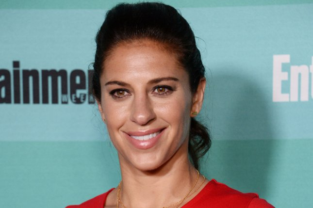 U.S. professional soccer player Carli Lloyd attends Entertainment Weekly's Comic-Con closing night celebration party at FLOAT at the Hard Rock Hotel in San Diego, California on July 11, 2015. Photo by Jim Ruymen/UPI