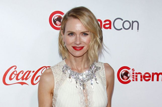 Naomi Watts arrives for the CinemaCon 2017 Big Screen Achievement Awards at Caesars Palace, Las Vegas on March 30. The actor turns 49 on September 28. File Photo by James Atoa/UPI