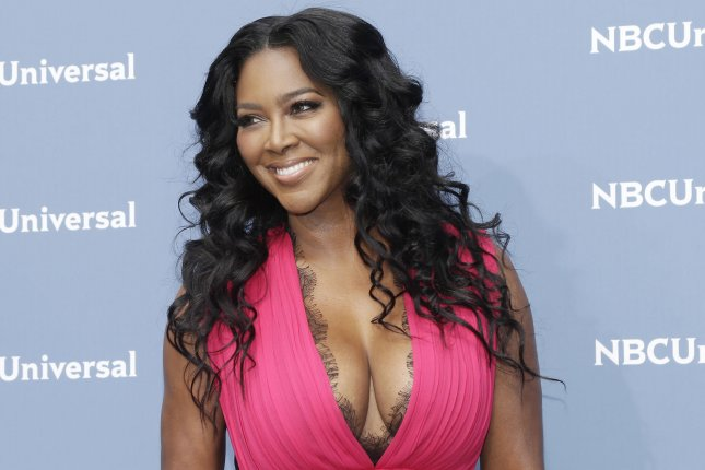 Kenya Moore showed off her growing belly Thursday on Instagram. File Photo by John Angelillo/UPI