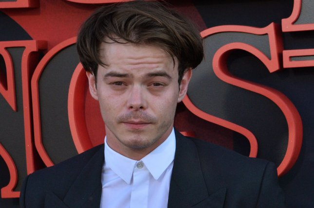 Stranger Things star Charlie Heaton is set to appear in AMC's Soulmates along with Malin Akerman. File Photo by Jim Ruymen/UPI