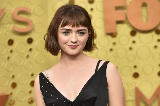 Maisie Williams' filme The New Mutants is set to open in theaters on August 28. File Photo by Christine Chew/UPI