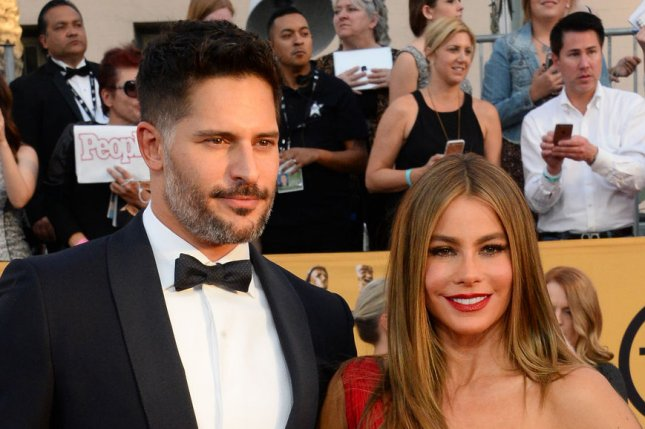 Sofia Vergara (R) and Joe Manganiello may choose to elope. File photo by Jim Ruymen/UPI