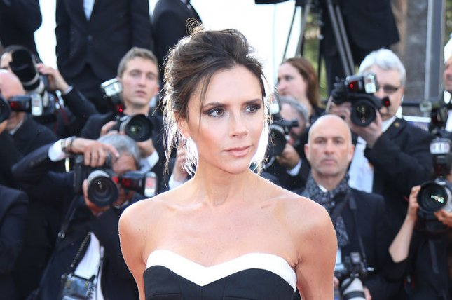 Victoria Beckham at the Cannes International Film Festival screening of Café Society on May 11, 2016. The designer had breast implants during her early career. File Photo by David Silpa/UPI