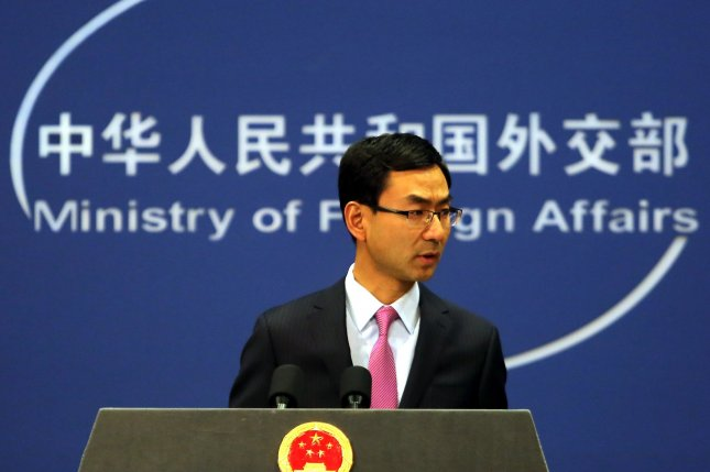Beijing's foreign ministry spokesman Geng Shuang criticized impeached South Korean President Park Geun-hye for her decision to deploy a U.S. missile defense system that would deter North Korea projectiles. Park was removed from power on Friday after Seoul's constitutional court ruled she had abused power while in office. Photo by Stephen Shaver/UPI