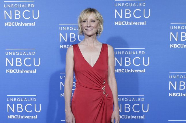 Anne Heche was eliminated from Dancing with the Stars Monday night. File Photo by John Angelillo/UPI