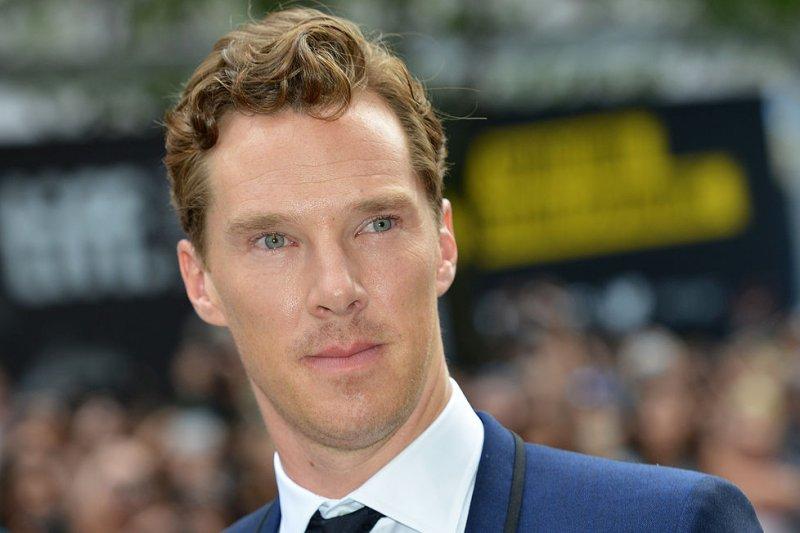 Benedict Cumberbatch at the Toronto International Film Festival premiere of 'The Imitation Game.' (UPI/Christine Chew)