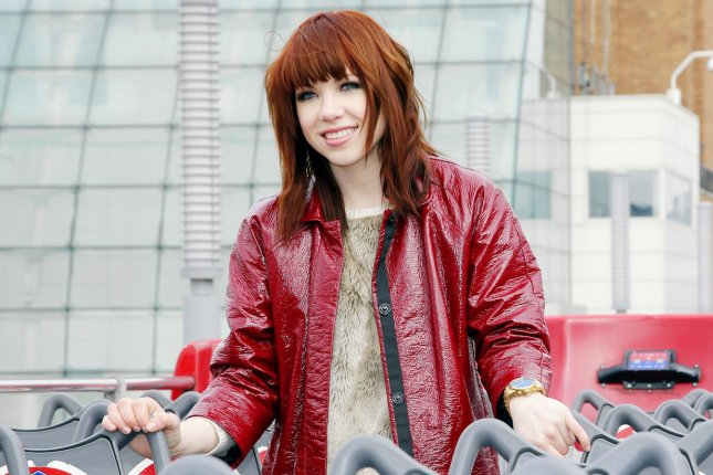 Carly Rae Jepsen premieres her new song Al That during her SNL debut on April 5. File photo by John Angelillo/UPI