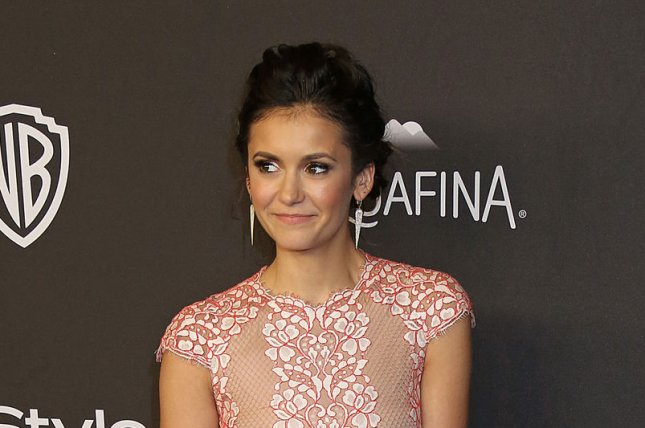 Nina Dobrev at the InStyle and Warner Bros. Golden Globes after-party on January 10. Photo by David Silpa/UPI