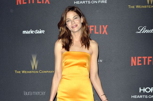 Michelle Monaghan has joined the cast of Patriots Day. She is pictured here at the Weinstein Company & Netflix 2016 Golden Globes after party in Beverly Hills on January 10, 2016. File photo by Christine Chew/UPI
