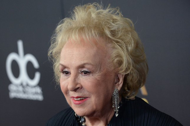 Doris Roberts at the Hollywood Film Awards on November 1, 2015. The actress died at age 90 on Sunday. File Photo by Jim Ruymen/UPI
