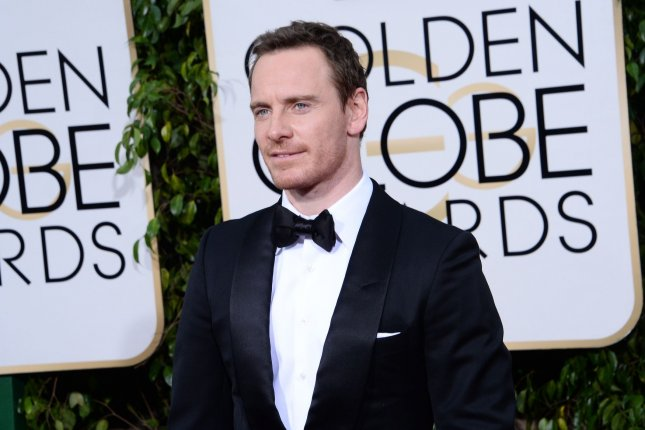 Actor Michael Fassbender attends the 73rd annual Golden Globe Awards on January 10, 2016. Fassbender has described his upcoming Prometheus sequel as super scary. File Photo by Jim Ruymen/UPI