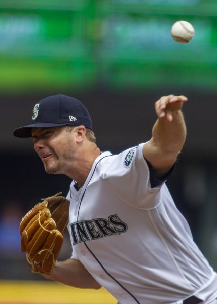 Wade LeBlanc and the Seattle Mariners take on the Baltimore Orioles on Tuesday. Photo by Jim Bryant/UPI