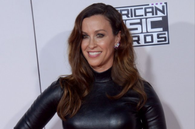 Alanis Morissette will celebrate the 25th anniversary of Jagged Little Pill with a new tour featuring Garbage and Liz Phair. File Photo by Jim Ruymen/UPI