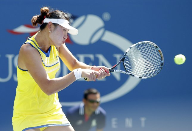 Duan Ying-Ying, shown at this year's U.S. Open, defeated No. 1-seeded Kimiko Date-Krumm in a first-round match Tuesday at the WTA's 125K-level Nanjing Ladies Open. UPI/John Angelillo