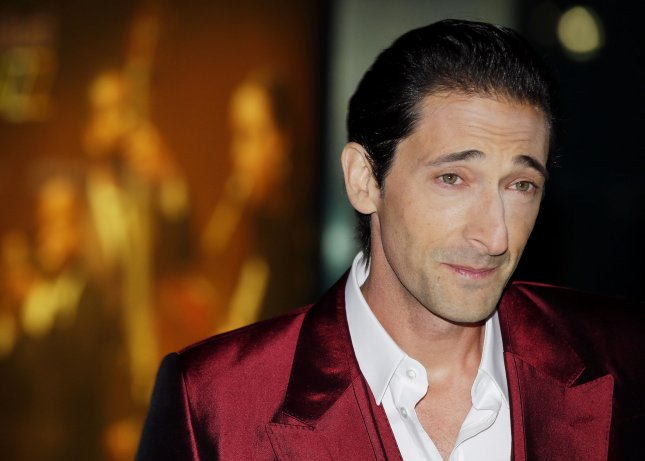 Adrien Brody arrives at the premiere of 'The Grand Budapest Hotel' at Alice Tully Hall in New York City on February 26, 2014. UPI/John Angelillo