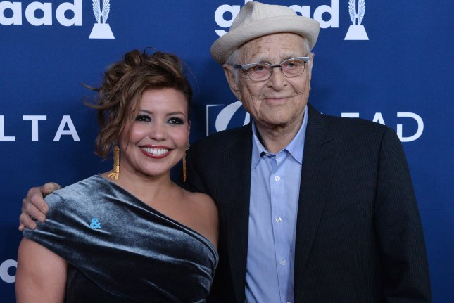 One Day at a Time collaborators Norman Lear and Justina Machado attend the 29th annual GLAAD Media Awards in Beverly Hills on April 12. Their show has been canceled after three seasons. File Photo by Jim Ruymen/UPI