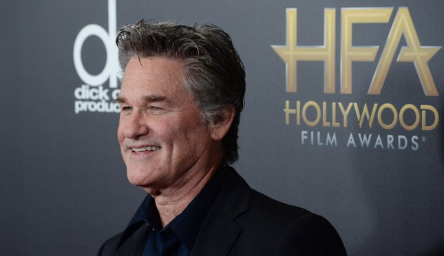 Kurt Russell arrives for the 19th Annual Hollywood Film Awards at the Beverly Hilton Hotel in Beverly Hills, Calif. on November 1, 2015. Russell discussed gun control and terrorism in a recent interview. File Photo by Jim Ruymen/UPI