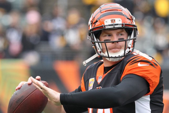 Andy Dalton and the Cincinnati Bengals face the Kansas City Chiefs this weekend. Photo by John Sommers II /UPI
