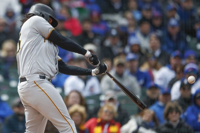 Pittsburgh Pirates first baseman Josh Bell turned into one of Major League Baseball's best hitters in 2019. File Photo by Kamil Krzaczynski